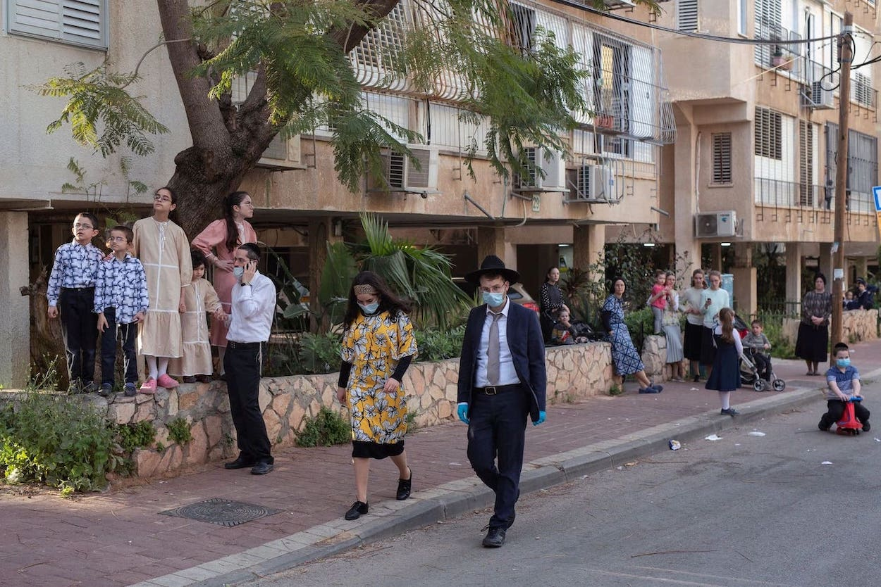 SYN-RG-Ai BLog - Ultra-Orthodox Enclave in Israel Opens to Outsiders to Fight a Virus
